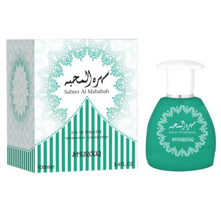 Parfum arabesc unisex, Sahret Al Mahabah by SHUROUQ EDT, 100 ml