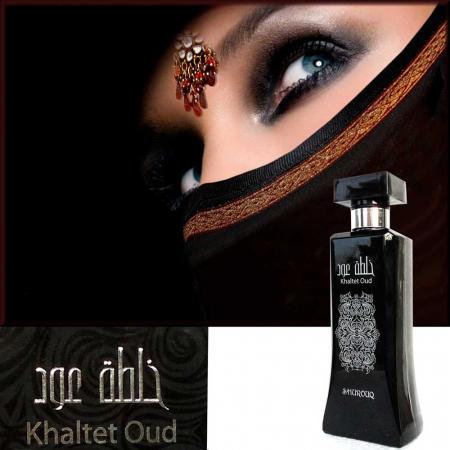 Parfum arabesc unisex, Khaltet Oud by SHUROUQ EDT, 100 ml2