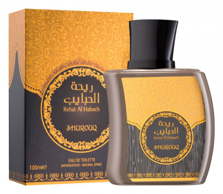 Parfum arabesc unisex, Rehat Al Habaeb by SHUROUQ EDT, 100 ml