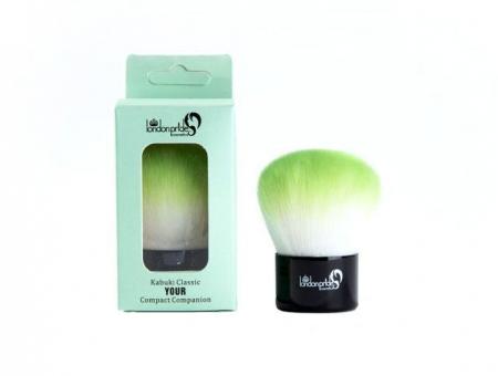 Pensula Profesionala Kabuki London Pride Cosmetics - Kabuki Classic Green1