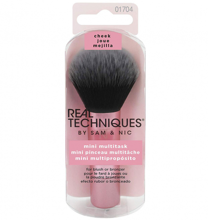Pensula profesionala de machiaj Real Techniques MINI Multitask Brush (Travel size)