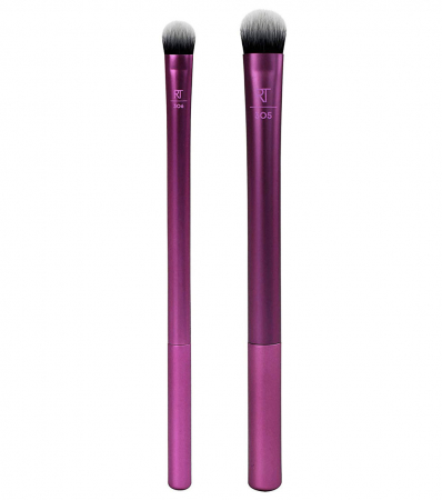 Set 2 Pensule Profesionale REAL TECHNIQUES Instapop Eye Brush Duo