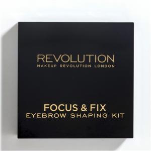 Kit Pentru Sprancene MAKEUP REVOLUTION Focus & Fix - Light Medium1