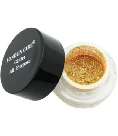Pigment Machiaj London Girl All Purpose Glitter, 3D Gold, 2g