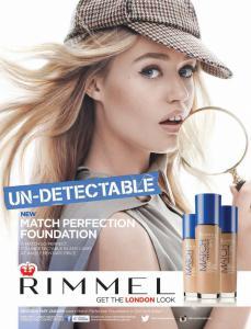 Fond de Ten Rimmel Match Perfection - 102 Light Nude, 30 ml2