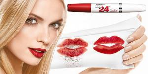 Ruj Mat Semipermanent Maybelline SuperStay 24 H Bold Matte 815 Fire Corail2