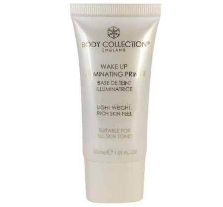 Primer iluminator pentru ten BODY COLLECTION Wake Up Illuminating Base, 30 ml