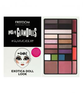 Paleta Multifunctionala Freedom London House of GlamDolls Exotica Doll look