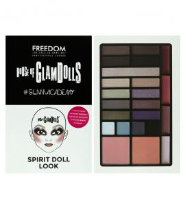 Paleta Multifunctionala Freedom London House of GlamDolls Spirit Dool