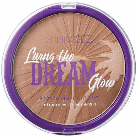 Pudra Bronzanta Iluminatoare SUNKISSED Living the Dream Glow, 28.5 g