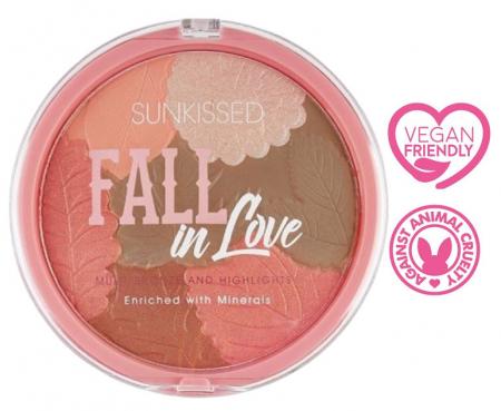 Pudra Bronzanta Iluminatoare SUNKISSED Fall In Love, 28.5 g2