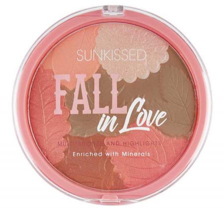 Pudra Bronzanta Iluminatoare SUNKISSED Fall In Love, 28.5 g