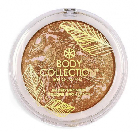 Pudra Bronzanta Iluminatoare Body Collection Baked Bronzer, 14 g