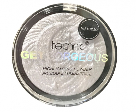 Iluminator Cu Particule Irizante Technic Get Gorgeous Highlighting Powder - Virtuoso, 12g