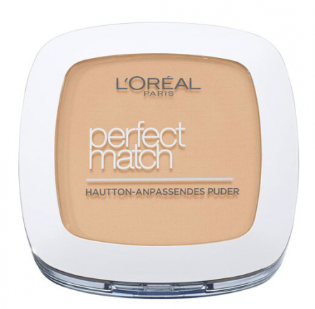 Pudra L'Oreal Paris Perfect Match Powder, 5.R/5.C Rose Sand, 9 g