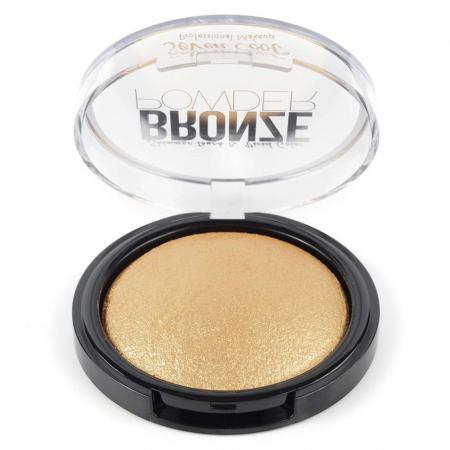 Pudra Profesionala Iluminatoare, Seven Cool, Bronze Powder, Shimmer Touch, 04 Gold1