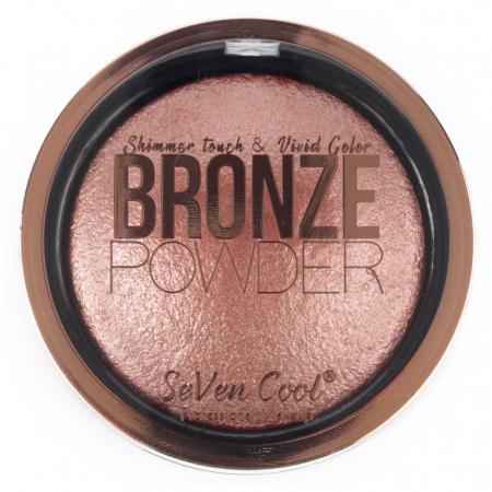 Pudra Profesionala Iluminatoare, Seven Cool, Bronze Powder, Shimmer Touch, 05 Pink Diamond