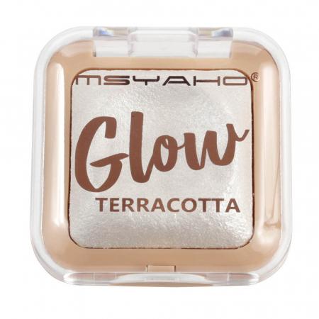 Pudra Iluminatoare, Glow TERRACOTTA, 01, 8 g