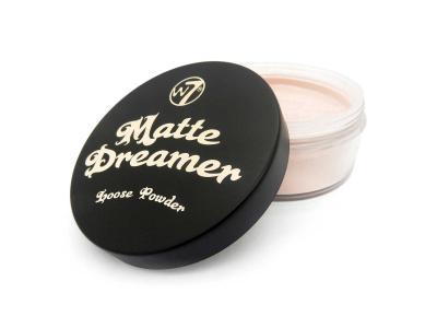 Pudra Pulbere Matifianta si Fixatoare W7 Matte Dreamer Loose Powder - Classy Cameo, 20g1