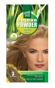 Pudra De Par Permanenta Naturala HennaPlus - 50 Golden Blond
