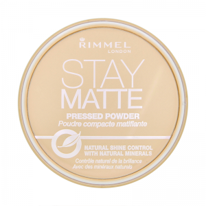 Pudra Compacta Rimmel Stay Matte - 002 Pink Blossom0