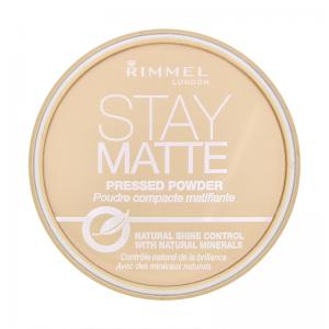 Pudra Compacta Rimmel Stay Matte - 005 Silky Beige0