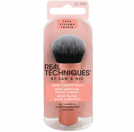 Pensula profesionala de machiaj Real Techniques MINI Expert Face Brush (Travel size)
