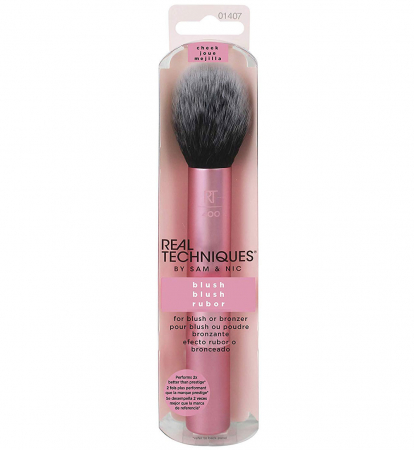 Real Techniques Finish Blush Brush - Pensula profesionala de machiaj pentru blush0