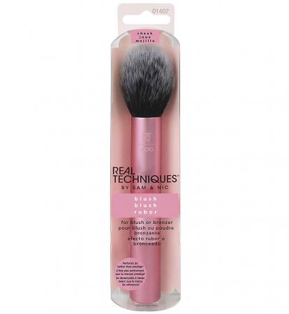 Real Techniques Finish Blush Brush - Pensula profesionala de machiaj pentru blush