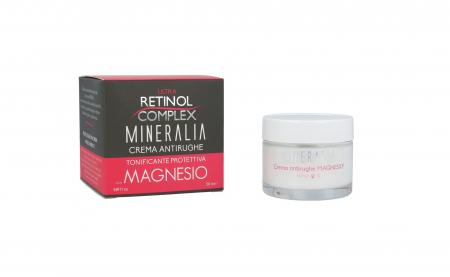 Crema antirid tonifianta protectiva cu saruri de MAGNEZIU, Mineralia, 50 ml