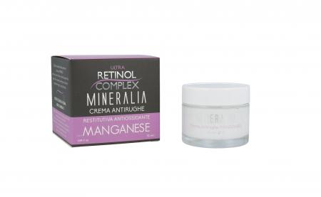 Crema antirid reparatoare anti-oxidanta cu MANGAN, Mineralia, 50 ml