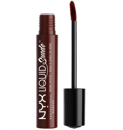 Ruj lichid mat NYX Professional Makeup Liquid Suede Cream, 43 Covet, 4 ml