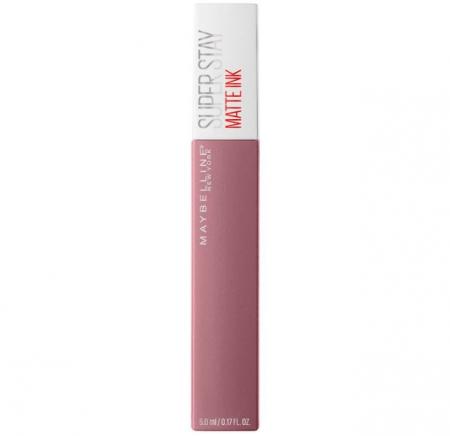 Ruj lichid mat rezistent la transfer Maybelline New York SuperStay Matte Ink, 95 Visionary, 5 ml2