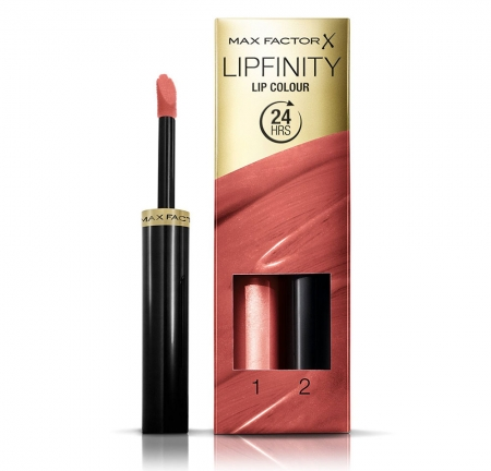 Ruj de buze rezistent la transfer Max Factor Lipfinity, 144 Endlessly Magic 2.3 ml + 1.9 g