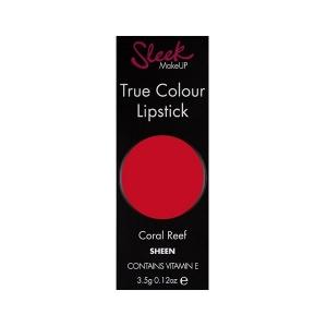 Ruj Sleek True Color Lipstick - 722 Coral Reef ,3.5 gr1
