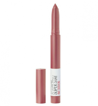 Ruj mat Maybelline New York SuperStay Ink Crayon 15 Lead The Way, 13 g