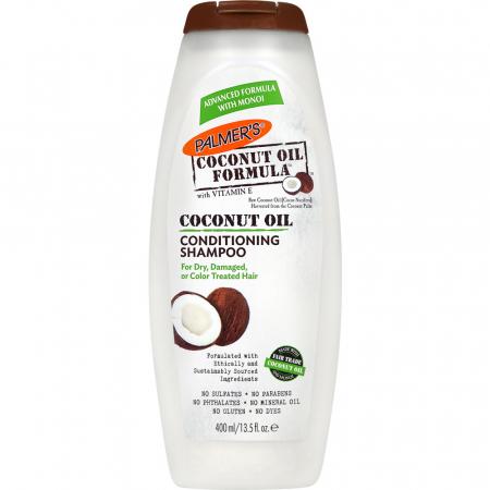 Sampon par uscat, deteriorat sau vopsit PALMER'S Coconut Oil Formula Conditioning, Vitamina E, 400 ml