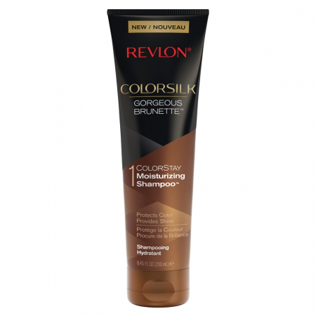 Sampon pentru parul brunet REVLON Colorsilk Gorgeous Brunette, 250 ml