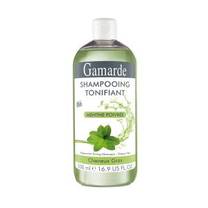 Sampon BIO Tonifiant cu Menta GamARde pt Par Gras - 400 ml