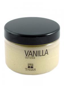 Sare Exfolianta pentru Corp TREETS cu Vanilie si Miere - 450 ml