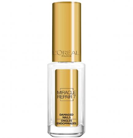 Ser Tratament Pentru Unghii Deteriorate L'Oreal La Manicure Miracle Serum 7 in 1, 5 ml