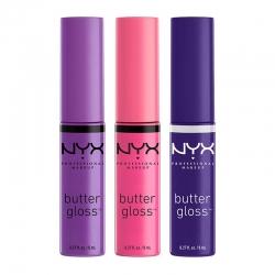 Set De 3 Luciuri De Buze Nyx Professional Makeup Butter Gloss - 080