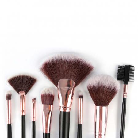 Set 8 Pensule Profesionale pentru machiaj, Complexion Brush Kit2