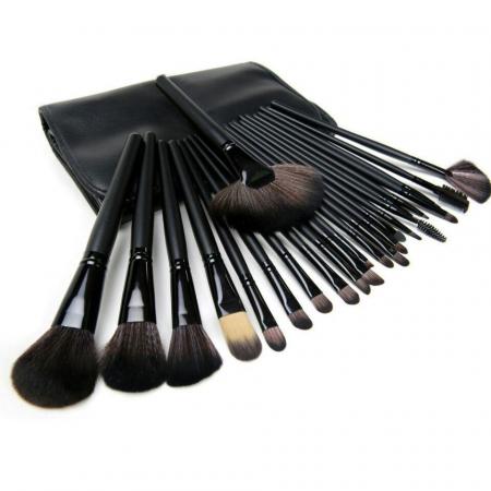 Set de 24 Pensule Profesionale din par natural Top Quality Hair, Black0