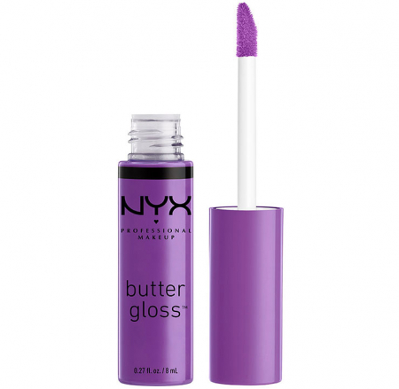 Luciu De Buze Nyx Professional Makeup Butter Gloss, 29 Sugar Plum, 8 ml