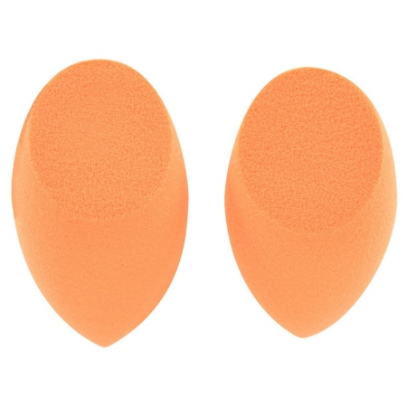 Real Techniques Base 2 Miracle Complexion Sponges - Set Cu 2 Buretei Profesionali Pentru Ten