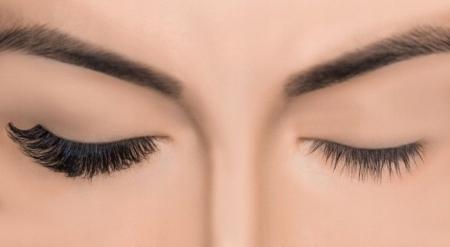 Set Gene False simple de Tip Banda, Eyelashes 0181