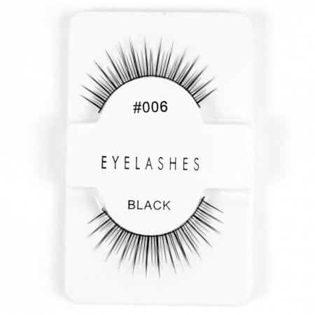 Set Gene False simple de Tip Banda, Eyelashes 0060