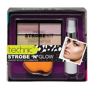 Set Make-Up Cu 3 Produse Technic Strobe 'N' Glow Highlight Set