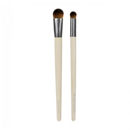 Set 2 pensule Ecotools Ultimate Concealer Duo Cover and Blend pentru aplicarea coretorului si blending2
